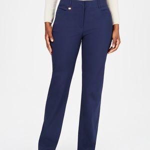 JM Collection Navy blue pants.